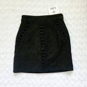NWT-SEEK THE LABEL High Waisted Mini Skirt